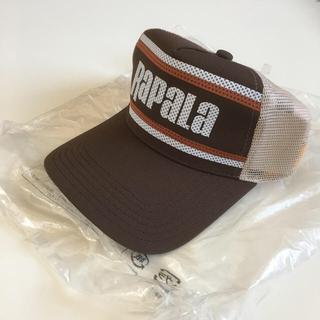 【未使用品】ラパラ(Rapala)メッシュ キャップ ブラウン RC-164BR(ウエア)