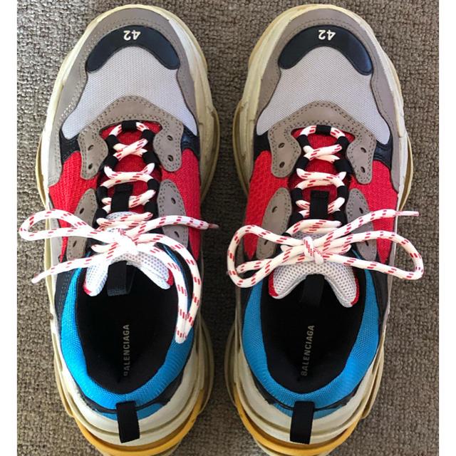 Balenciaga(バレンシアガ)のbalenciaga tripleS スニーカー 42 メンズの靴/シューズ(スニーカー)の商品写真