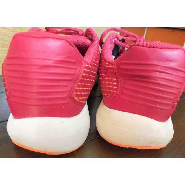 UNDER ARMOUR(アンダーアーマー)の【中古】アンダーアーマー スニーカー 赤 25.5 おしゃれ メンズの靴/シューズ(スニーカー)の商品写真