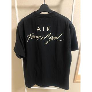 FEAR OF GOD - NIKE × FEAR OF GOD コラボ Tシャツ ブラック S