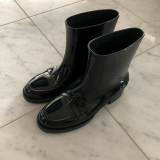 ヌメロヴェントゥーノ(N°21)のN°21 ヌメロヴェントゥーノ  レインシューズ ブラック(レインブーツ/長靴)