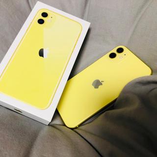 Apple - iPhone 11 イエロー 64 GB SIMフリー