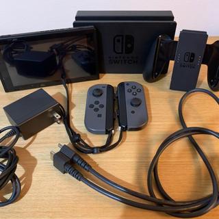 ニンテンドースイッチ(Nintendo Switch)のnintendo switch 任天堂スイッチ ニンテンドウ 本体 グレー (家庭用ゲーム機本体)