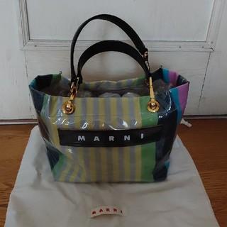 マルニ(Marni)の美品!正規品★マルニ★ストライプ スモール(トートバッグ)