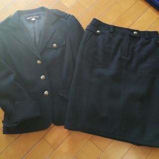ミッシェルクラン(MICHEL KLEIN)のミッシェルクラン ウールニットスーツ(スーツ)