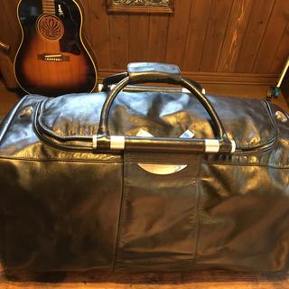 ゼロハリバートン(ZERO HALLIBURTON)のレア ゼロハリバ-トンの本革ボストンバッグ おまけ付き(トラベルバッグ/スーツケース)