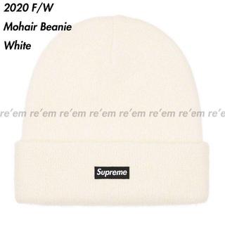 Supreme - Supreme 2020 20 FW Mohair Beanie White