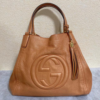 Gucci - GUCCI グッチ ソーホー レザートートバッグ