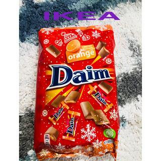 イケア(IKEA)の【一年に一度の限定オレンジIKEA イケア  Daim ダイム個包装チョコレート(菓子/デザート)