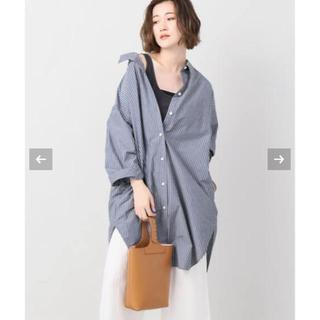 Plage - 美品 Plage プラージュ Dry stripe シャツワンピース