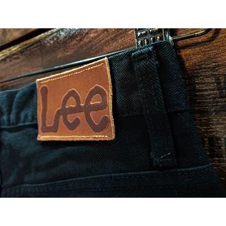 Lee - リー♪40101♪ストレートブラックジーンズ♪ウエスト約76cm♪1881B