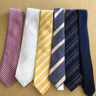ザラ(ZARA)の美品 ネクタイ 6本セット(ネクタイ)