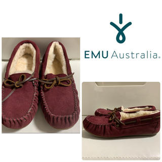 EMU - emu   アミティ ワインボルドー モカシン