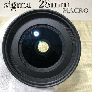 SIGMA - SIGMA シグマ 28mm F1.8D EX DG MACRO