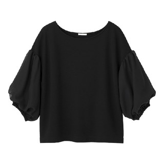 GU - バルーン袖 カットソー