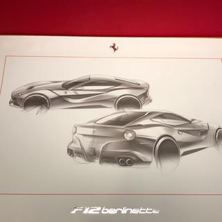 フェラーリ(Ferrari)のFerrari /F12berlinetta/リトグラフ/非売品(その他)