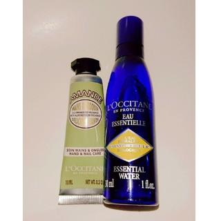 L'OCCITANE - ロクシタン イモーテル 化粧水30ml adハンドクリーム10ml