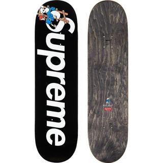 シュプリーム(Supreme)のSupreme®/Smurfs™ Skateboard deck 黒(スケートボード)