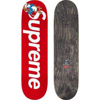 シュプリーム(Supreme)のSupreme®/Smurfs™ Skateboard deck 赤(スケートボード)