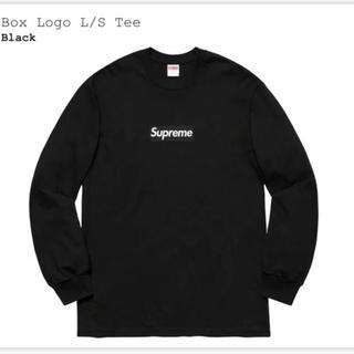 Supreme - 【M】supreme box logo l/s tee