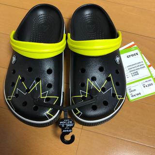 crocs - 新品タグ付◆クロックス22cmM4/W6crocs黒