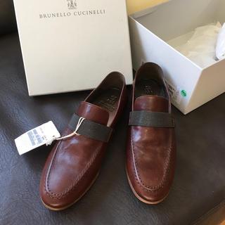 ブルネロクチネリ(BRUNELLO CUCINELLI)の新品未使用 ブルネロクチネリ モニーレ ローファー 36(ローファー/革靴)
