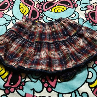 ヒステリックミニ(HYSTERIC MINI)の美品ヒスミニサイズ130(スカート)