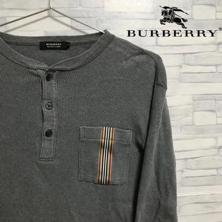バーバリーブラックレーベル(BURBERRY BLACK LABEL)のBURBERRY BLACK LABEL ヘンリーネック ノバチェック(Tシャツ/カットソー(七分/長袖))