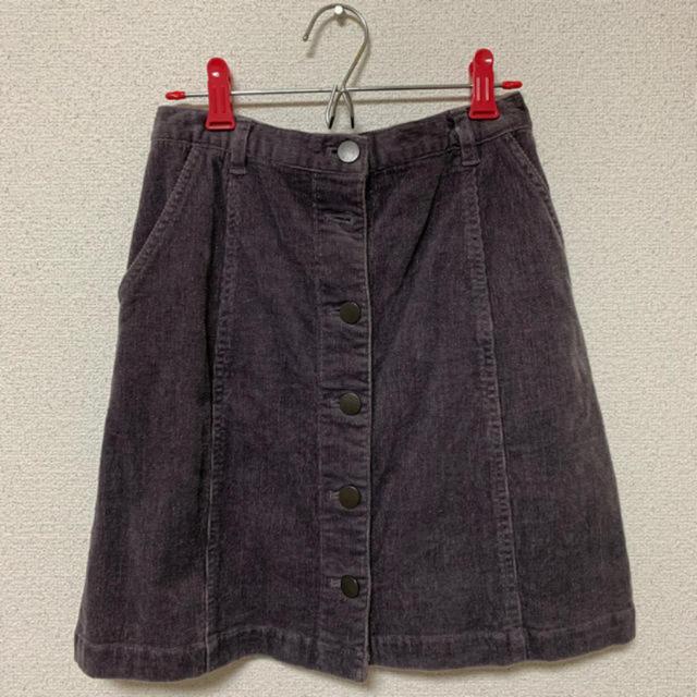 mysty woman(ミスティウーマン)のコーデュロイスカート レディースのスカート(ミニスカート)の商品写真