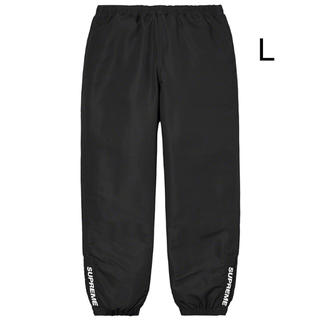 Supreme - Warm Up Pant Black Lサイズ