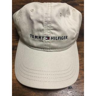トミーヒルフィガー(TOMMY HILFIGER)のトミーヒルフィガー ベージュキャップ(キャップ)