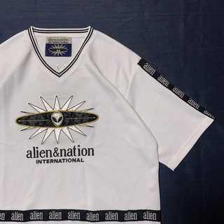 90's ALIEN&NATION エイリアン Tシャツ ゆるだぼ 古着