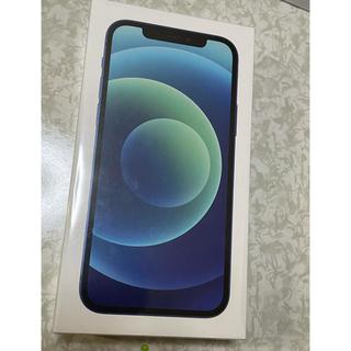 iPhone - 新品未使用  iPhone12 128GB ブルー 国内版SIMフリー