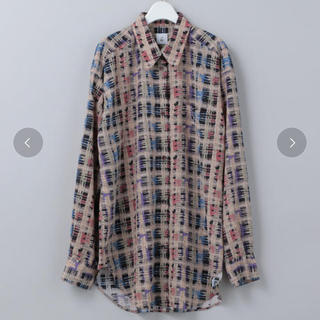 BEAUTY&YOUTH UNITED ARROWS - roku beauty&youth CHECK PRINT SHIRTS 36