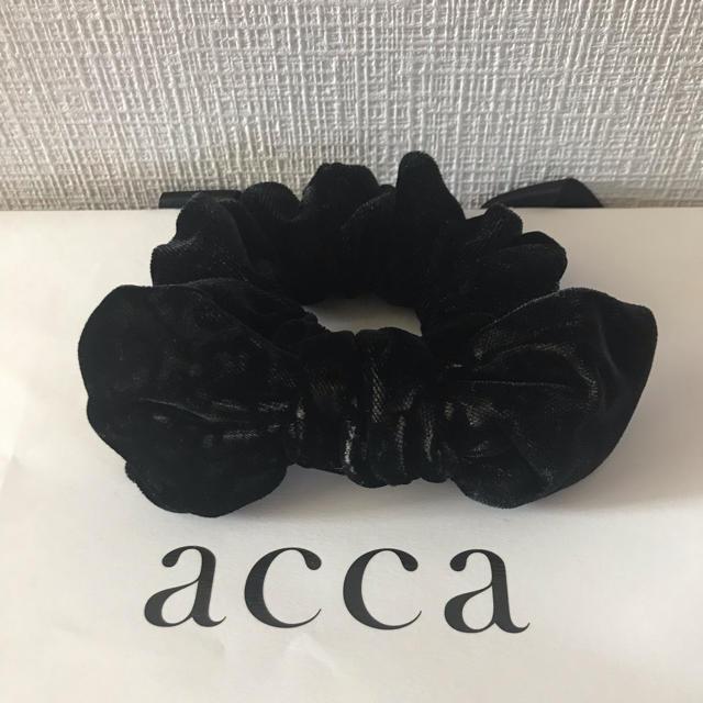 acca(アッカ)の専用です acca バニーシュシュ レディースのヘアアクセサリー(ヘアゴム/シュシュ)の商品写真