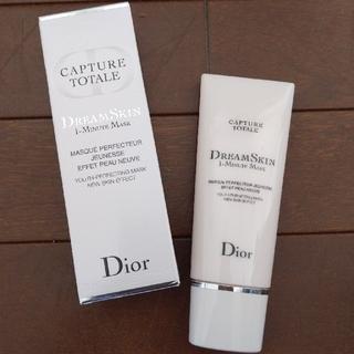 Dior - ディオール カプチュール トータル ドリームスキン 1ミニットマスク