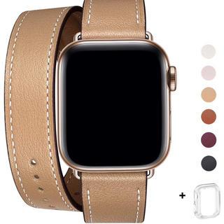 Apple Watch ダブルループバンド シリコンカバーケースつき