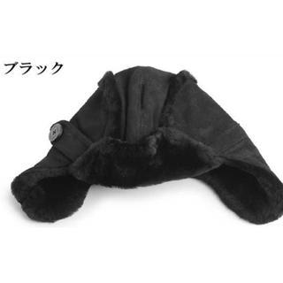 アグ(UGG)のUGG kids ムートン帽子 新品未使用(帽子)
