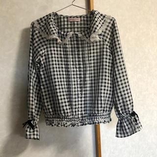 メゾピアノジュニア(mezzo piano junior)のメゾピアノ  ジュニア★ブラウス★Lサイズ(Tシャツ/カットソー)