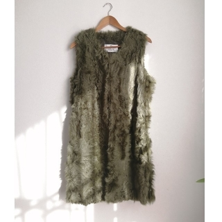 holiday - THE Dallas REAL FUR VEST