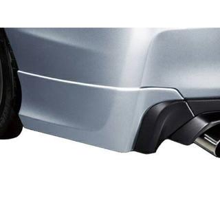 スバル(スバル)の新品未使用 WRX STI F型 VAB エアロスプラッシュ ブラック(車種別パーツ)