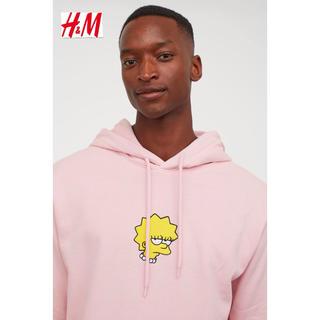 エイチアンドエム(H&M)の新品 安値 H&M × シンプソン コラボ パーカー M(パーカー)