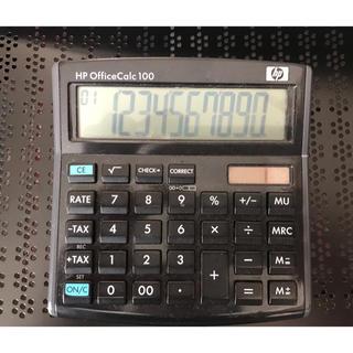 ヒューレットパッカード(HP)のHP Officecalc 100 電卓(オフィス用品一般)