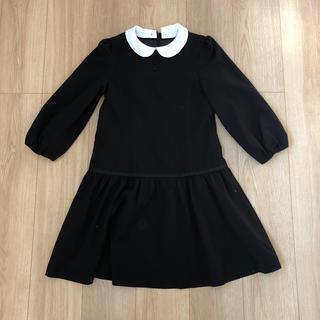 ジーユー(GU)のフォーマル 女の子 150 冠婚葬祭 ブラック (ドレス/フォーマル)