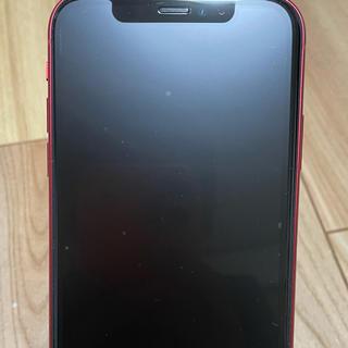 アイフォーン(iPhone)のiPhone11 256GBブロダクトレッド スマートバッテリー箱あり付属品あり(スマートフォン本体)