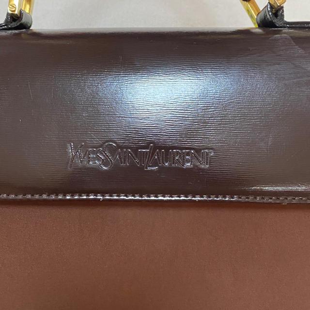 Saint Laurent(サンローラン)のイヴサンローラン ysl ハンドバッグ ヴィンテージ オールド レディースのバッグ(ハンドバッグ)の商品写真