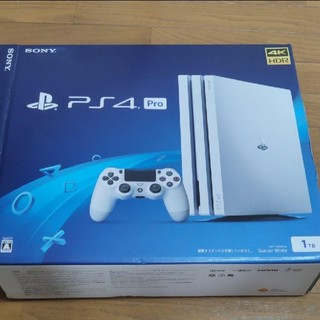 PlayStation4 - PS4 pro本体 1tb cuh7200b02