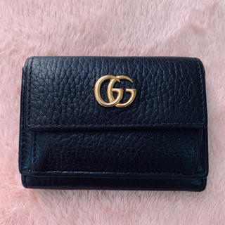 Gucci - GUCCI グッチ✨プチマーモント コンパクト ウォレット