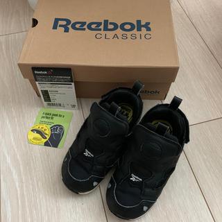 リーボック(Reebok)のリーボッククラシック ポンプフューリー ブラック14センチ(スニーカー)