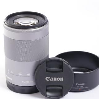 ★人気の一本!手ぶれ補正機能搭載レンズ★ キャノン EF-M 55-200mm